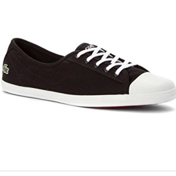 ae56ea8fa Lacoste Shoes - EUC Lacoste 6.5 Ziane LCR 2